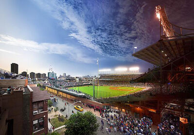"Stephen Wilkes, 'Wrigley Field 2013 Chicago,Ill  ""Day to Night"" Series', 2013"