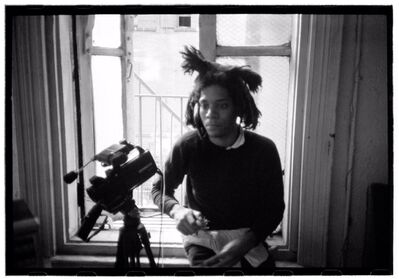 Roland Hagenberg, 'Basquiat with video camera', 1983