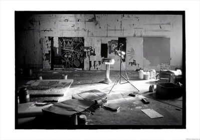Roland Hagenberg, 'Basquiat's studio on Crosby Street, New York, 1983', 1983