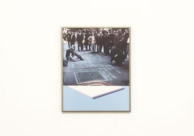 Daan Van Golden, 'White painting / Daan in Paris', 2012