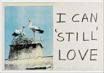Tracey Emin, 'I Can Still Love', 2012
