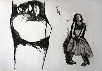 Asim Abu Shakra, 'Little Red Riding Hood', ca. CA 1986