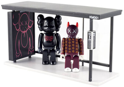 KAWS, 'Kubrick 100% and Bus Stop 2', 2002