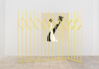 Math Bass, 'Yellow Gate,', 2014
