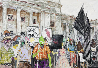 Farley Aguilar, 'The Protest', 2015