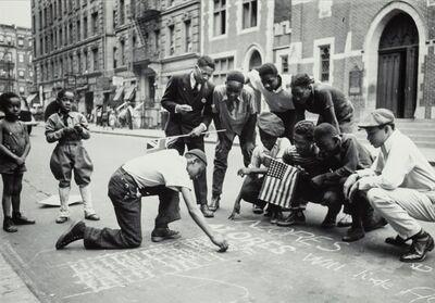lucien Aigner, 'Political Expression in Harlem', 1936