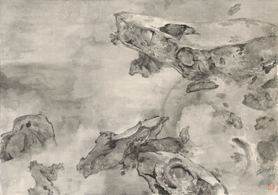 Tai Xiangzhou 泰祥洲, 'Mountains Locked in Mist 云山烟锁', 2016