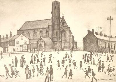 L.S. Lowry, 'St Mary's, Beswick'