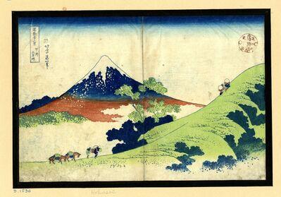 Katsushika Hokusai, 'Inume Pass in Kai Province ', ca. 1830