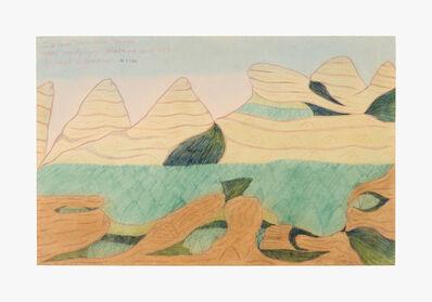 Joseph Yoakum, 'In Black Mountain Range Near Montgomery Alabama South U.S.A.', 1970