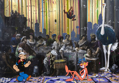 Angelo Accardi, 'Popeye Among Them', 2019