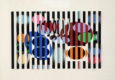 Yaacov Agam, 'De la 2ème à la 4ème dimension ', 1975