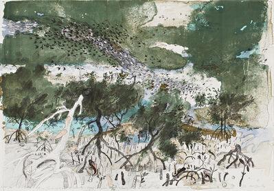 John Wolseley, 'From Siberia to the Kimberley - Each year the Wading birds return to the Mangrove Swamp', 2012