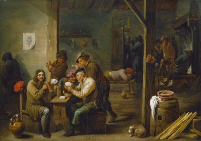 David Teniers the Younger, 'Tavern Scene', 1658