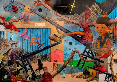 So Shimada, '荒唐無稽文化罪(ズドン) Non-sense Cultural Sin/Bang', 2011