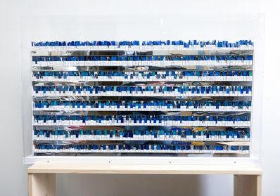 Katsumi Hayakawa, 'Accumulation Blue', 2018