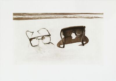 Wayne Thiebaud, 'Dark Glasses', 1994