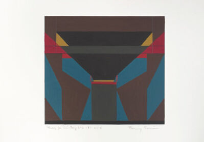 Fanny Sanin, 'Study for Painting Nº 2 ', 2010