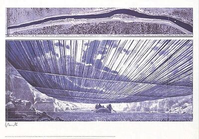 Christo, 'Over The River VIII, Project for Arkansas River', 2000-2010