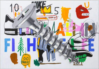 Philip Colbert, 'Warhol Basquiat Screw', 2018