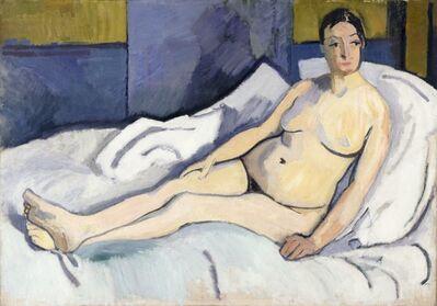 Raoul Dufy, 'Reclining Nude'