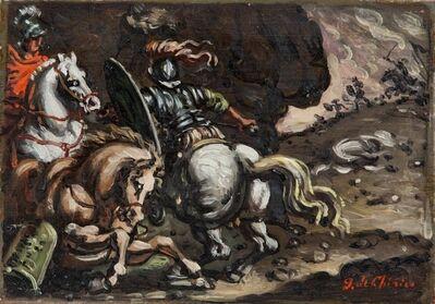 Giorgio de Chirico, 'Battaglia', 1952