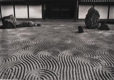 Paul Caponigro, 'Sand Garden #2, Tofukuji Temple, Kyoto, Japan', 1976
