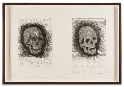 Damien Hirst, 'For the Love of God: Beyond Belief and Thank You (Two Works)', 2007