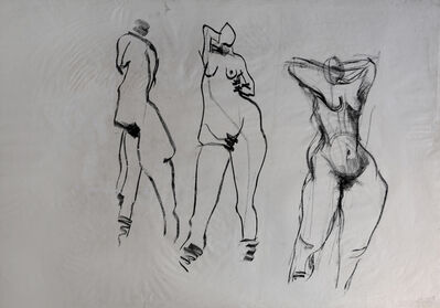 Asim Abu Shakra, 'From the Strippers Series ', 1985-1986