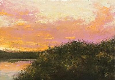 Shawn Krueger, 'Across the Pond (Sundown)', 2020