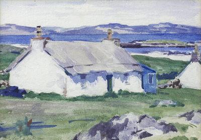F C B Cadell, 'Croft, Iona', ca. 1920
