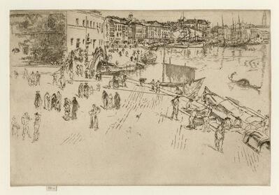 James Abbott McNeill Whistler, 'The Riva No. 2', 1879