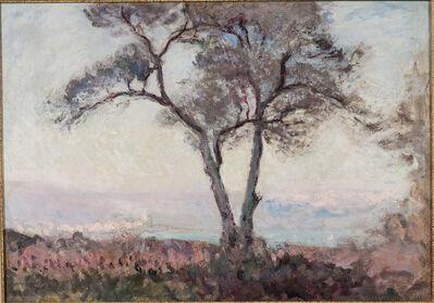 André Barbier, 'Coastal Landscape with Tree'