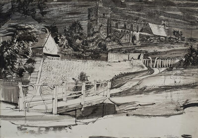 Michael Rothenstein, 'The Bridge at Finchingfield', ca. 1941