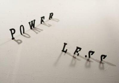 Ana Tiscornia, 'Power Less', 2012