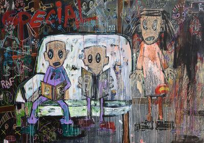 Aboudia, 'Special Etude', 2012