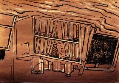 Tom Burckhardt, 'Flooded Bookcase', 2016