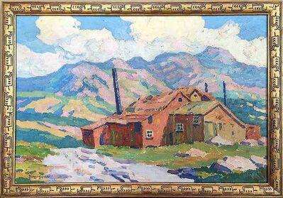 Birger Sandzén, 'Old Zinc Mill', 1913