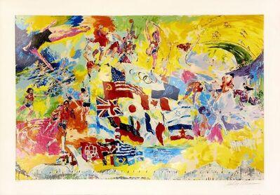 LeRoy Neiman, 'MONTREAL '76', 1976