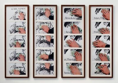 Alexis Hunter, 'The Marxist's Wife (still does the housework)', 1978/2005