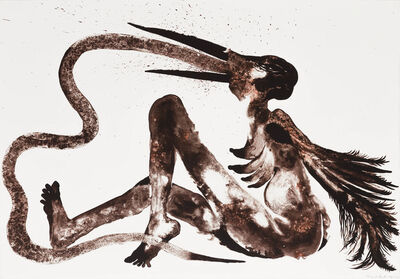 Wangechi Mutu, 'Snake Eater', 2014