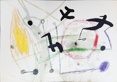 Joan Miró, 'UNTITLED from Maravillas con Variaciones Acrósticas en el Jardín de Miró (Wonders with Acrostic Variations in the Garden of Miró)', 1975