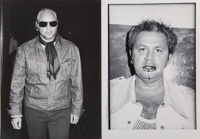 Ron Galella, 'Marlon Brando and Ron Galella (diptych)', 1973