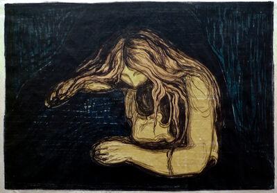Edvard Munch, 'Vampyr II (Vampire II), ', 1895-1902
