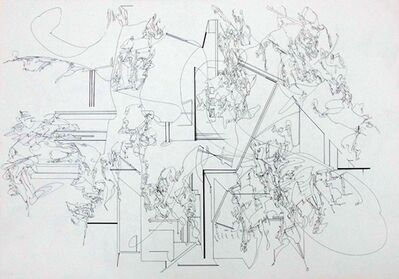 Yukari Bunya, 'Drawing - Looking at the Vacant Scenery 8', 2010