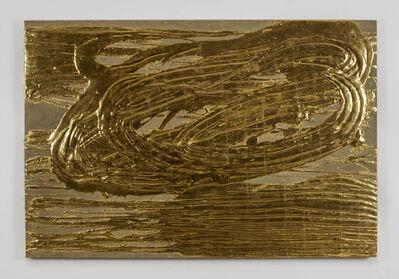 Nancy Lorenz, 'Red Gold on Burlap', 2015