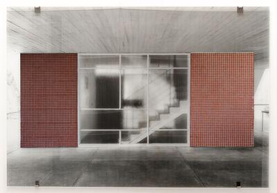 Veronika Kellndorfer, 'Niemeyer with red tiles', 2017