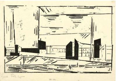 Lyonel Feininger, 'Vorstadt I', 1924