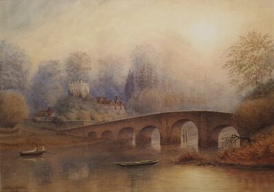 Alfred Sale Watson, 'Bridge at Sonning on Thames', 1905