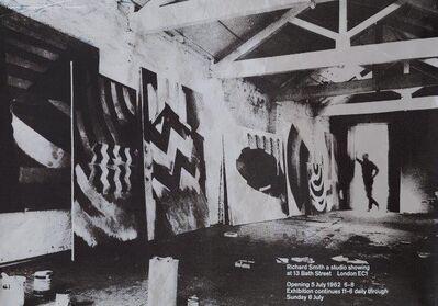 Gordon House, 'Richard Smith a Studio Showing Poster', 1962